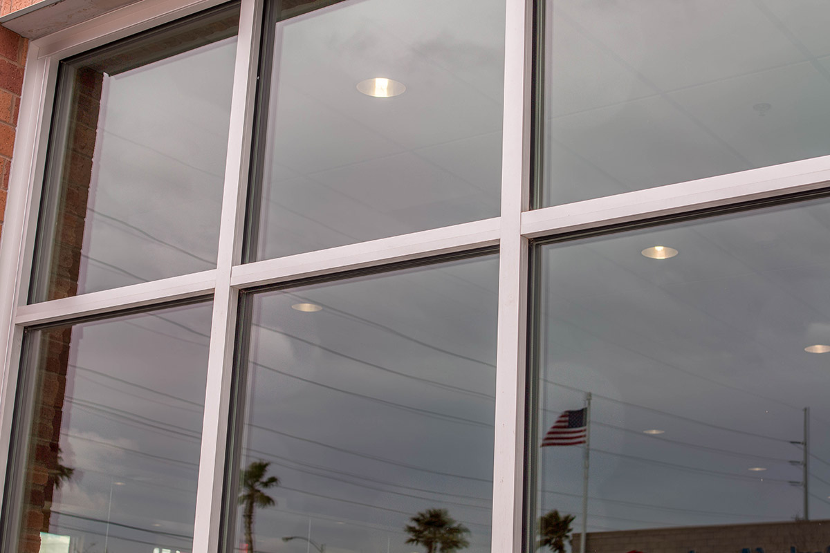 Commercial Storefront Windows : Peter piper pizza commercial glass storefront a