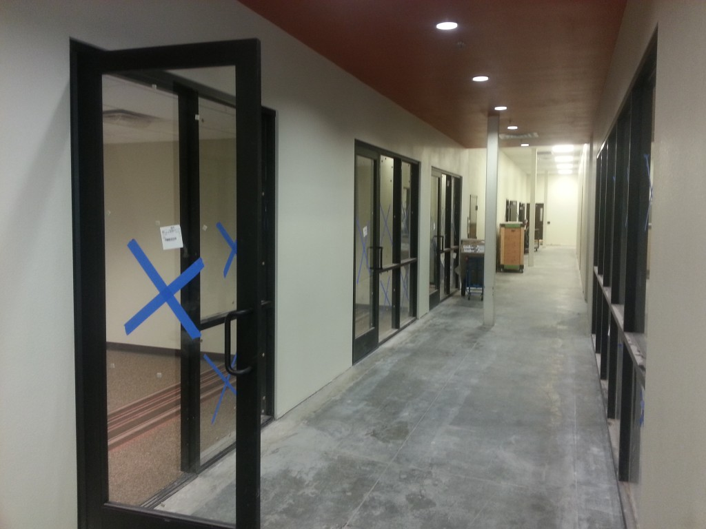 Storefront Glass Walls : Glass partition walls a cutting edge