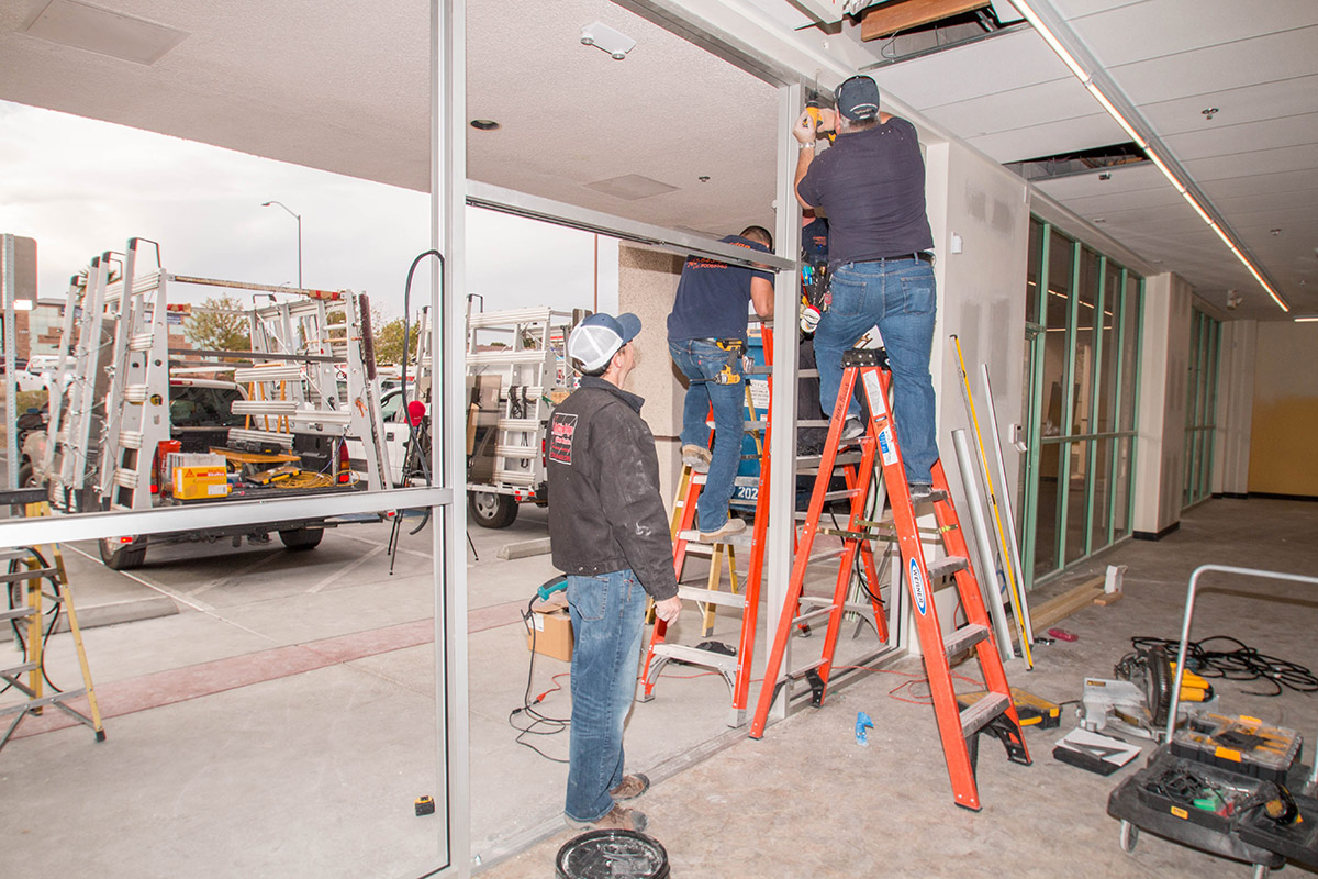 Commercial Glazing Systems : Commercial storefront glass system replacement repair