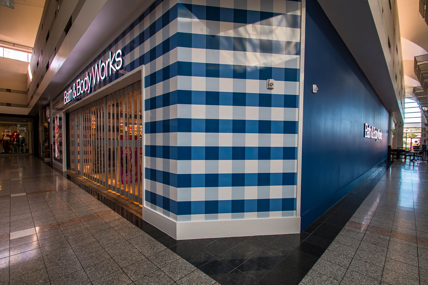 Front Corner Of Bath Body Works Inside The Boulevard Mall